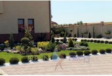 Private garden Varna city